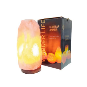 Солевая лампа «Скала» 2-3 кг ЭКО